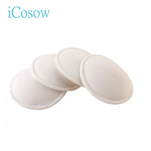 iCosow 100pcs Washable Reusable Breast Pads puerpere Breastfeeding Breastfeeding Pad Feeding Breast Pads puerpere Absorption capacity Excellent Breastfeeding